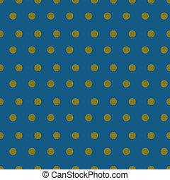 motívum, seamless, háttér, sárga, kék, ékezetez