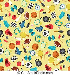 motívum,  sport,  seamless, ikonok
