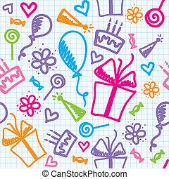 motívum, születésnap