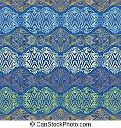 motívum, tapéta, seamless, textil, etnikai, vagy, 70