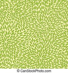 motívum, zöld, japán