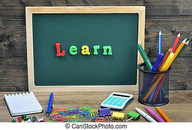 mot, apprendre