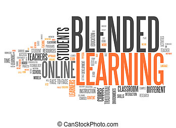 "mot, ""blended, nuage, learning"""