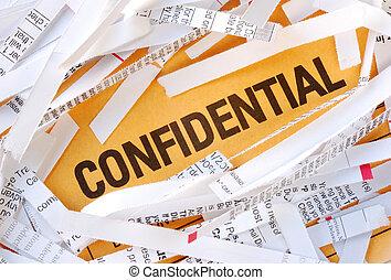 mot, confidentiel