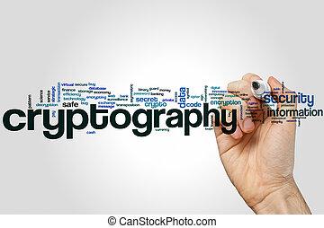 mot, cryptography, nuage