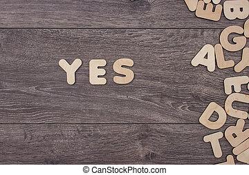 mot, fait, à, bois, lettres, côté, a, tas, de, autre, lettres, sur, les, conseil bois
