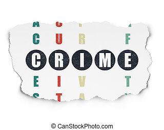 mot, intimité, puzzle, crime résolvant, mots croisés, ...