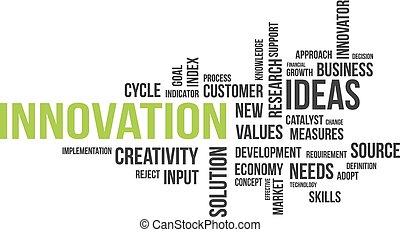 mot, -, nuage, innovation