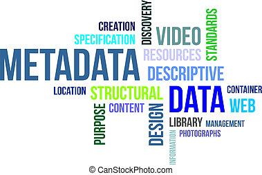 mot, -, nuage, metadata