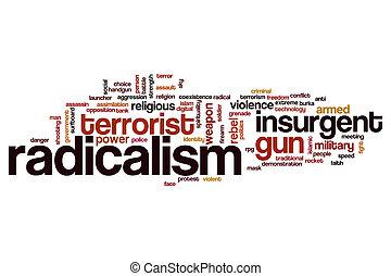 mot, nuage, radicalism