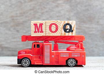 mot, quantity), brûler, (abbreviation, moq, minimum, bois,...