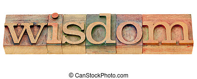 mot, type, letterpress, sagesse