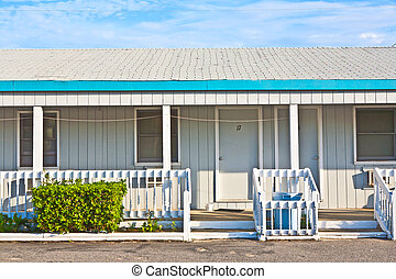motel in the outer banks, USA