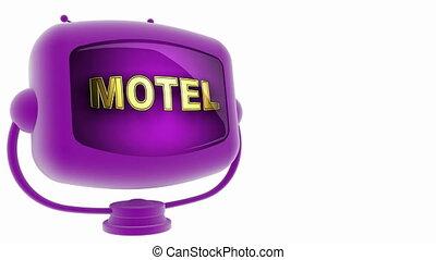 motel on loop alpha mated tv