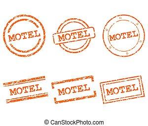 motel, sellos