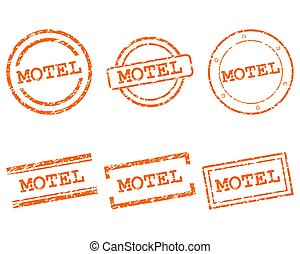 Motel stamps