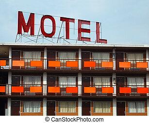 motel, vieux