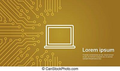 moterboard, laptop computer, achtergrond, spandoek, op,...