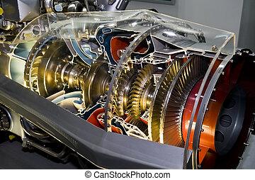 moteur, avion