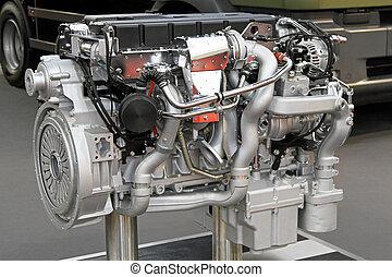 moteur, camion