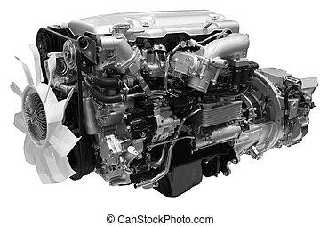 moteur, diesel