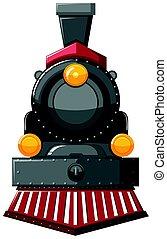 moteur, gris, vapeur, couleur