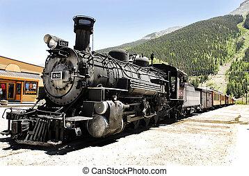 moteur, haler, vapeur, 481