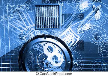 moteur, modèle