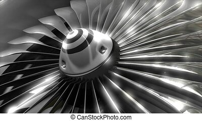 moteur, turbine
