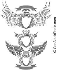 moteur, turbo, emblème