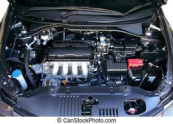 moteur, voiture