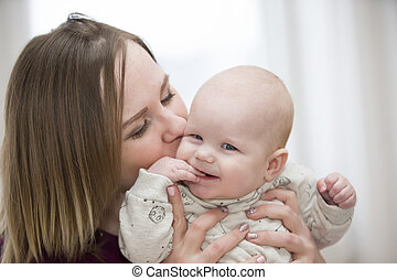.Mother and baby