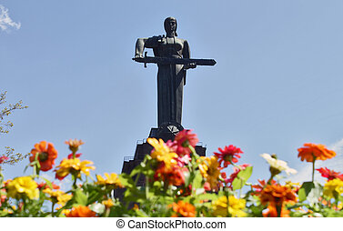 Mother Armenia Statue - It was opened in Victory Park in Yerevan, 1950.