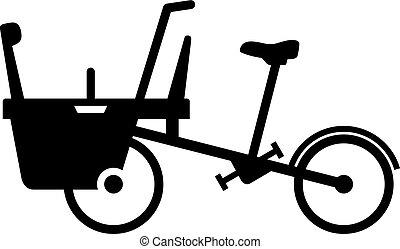 Mother baby bike stroller