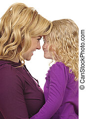Mother Daughter - Mother and daughter ( mothers day)