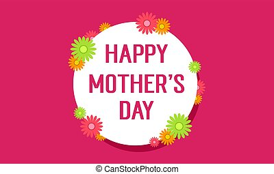 Mother day style background collection
