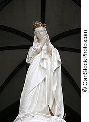 Mother Mary - Oura Church, Nagasaki, Japan