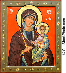 Mother of God Jesus Christ - The Icon a Mother of God (Mary)...