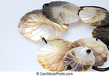Mother of pearl jewelery