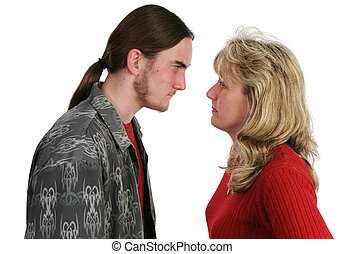 Mother Son Confrontation