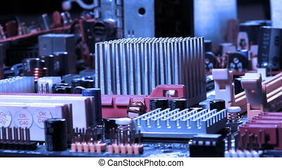 Motherboard Hardware Computer Electronic Technology Device...
