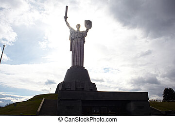 Motherland monument, Kiev - Monument of the Motherland in ...