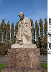 Motherland statue. Berlin, Germany