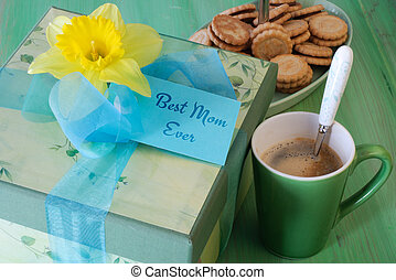 Mother's Day Breakfast with Gift Box