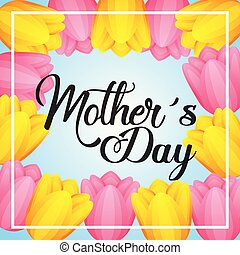 mothers day card floral