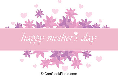 mother's day card for invitation, background, banners and ...