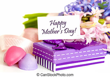 Mother's Day Concept - Gift for Mother's Day