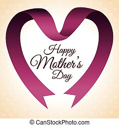 Mothers day design, vector illustration. - Happy mothers day...