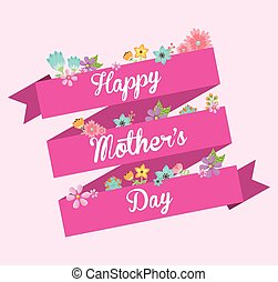 mothers day design, vector illustration eps10 graphic
