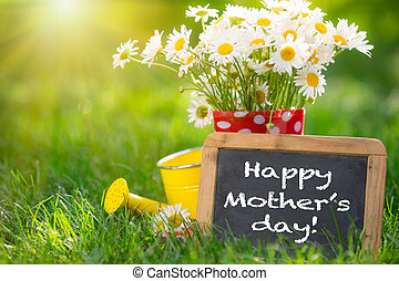 Mother's day greeting concept